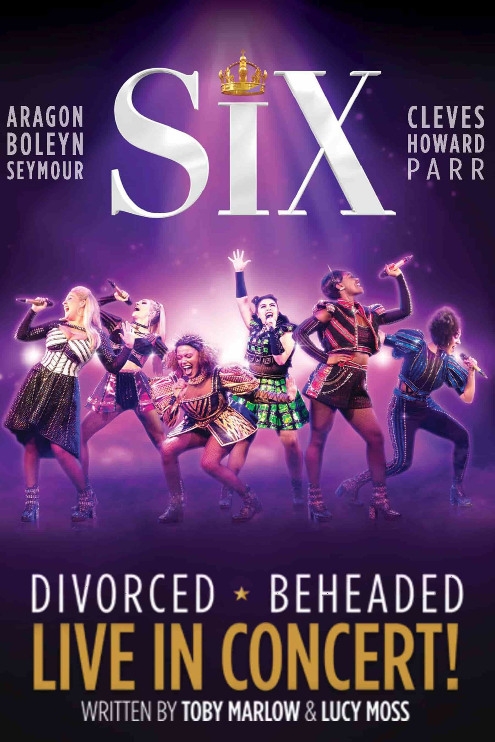 SIX musical poster